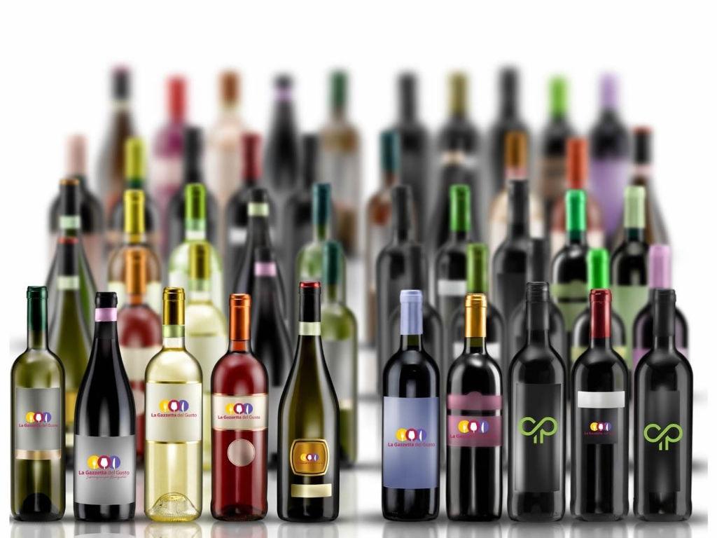 Bottiglie da vino: tipologie, storia, forma, capacità