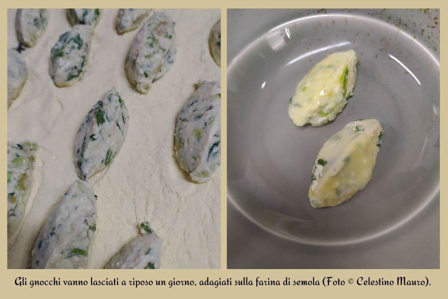 Gnocchi di ricotta di pecora, verde di primavera e cozze