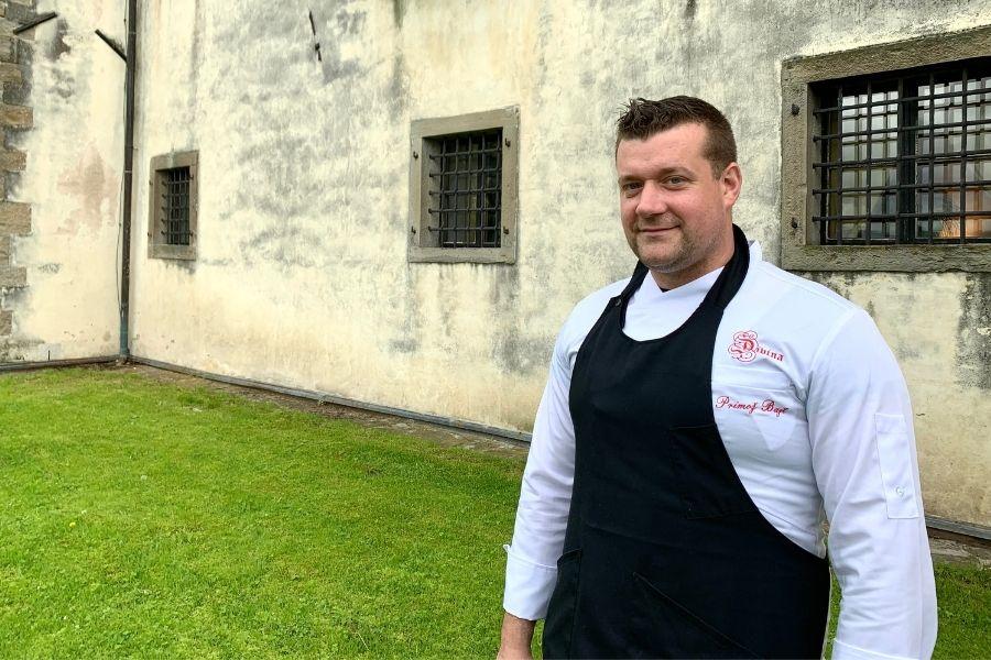 Chef Primoz Bajt in Slovenia