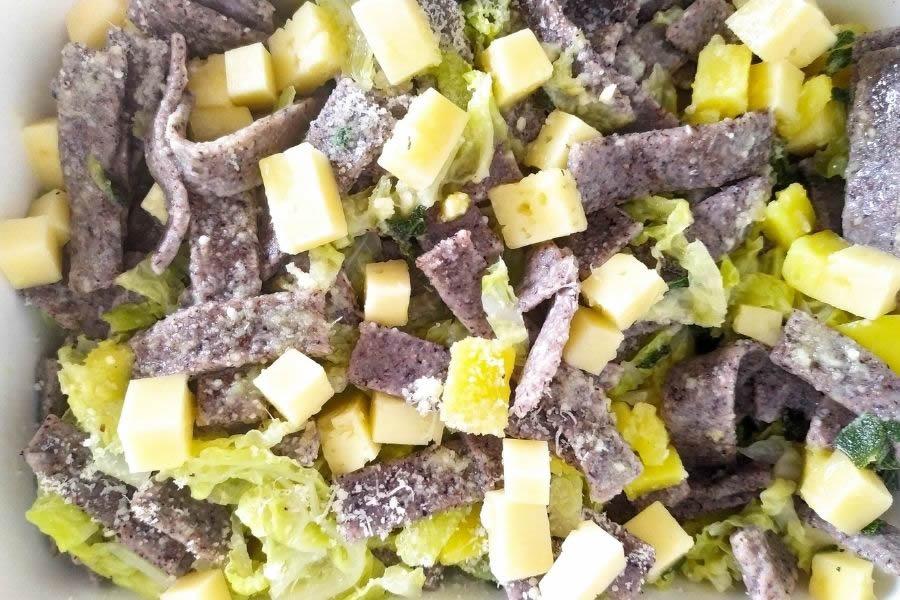 Ricetta dei Pizzoccheri alla Valtellinese