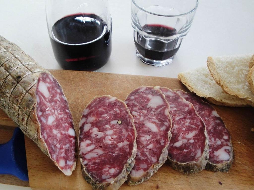 Salami della Lombardia: salame di Varzi