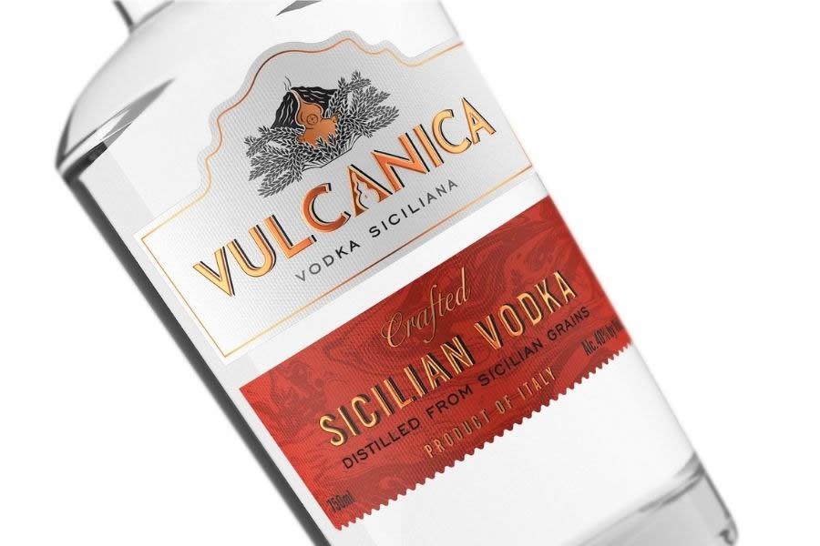 Vulcanica Vodka siciliana: da grani antichi dell'Etna