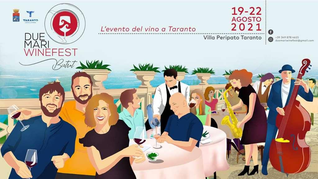 Due Mari Wine Fest 2021: cambia format l'evento di Taranto