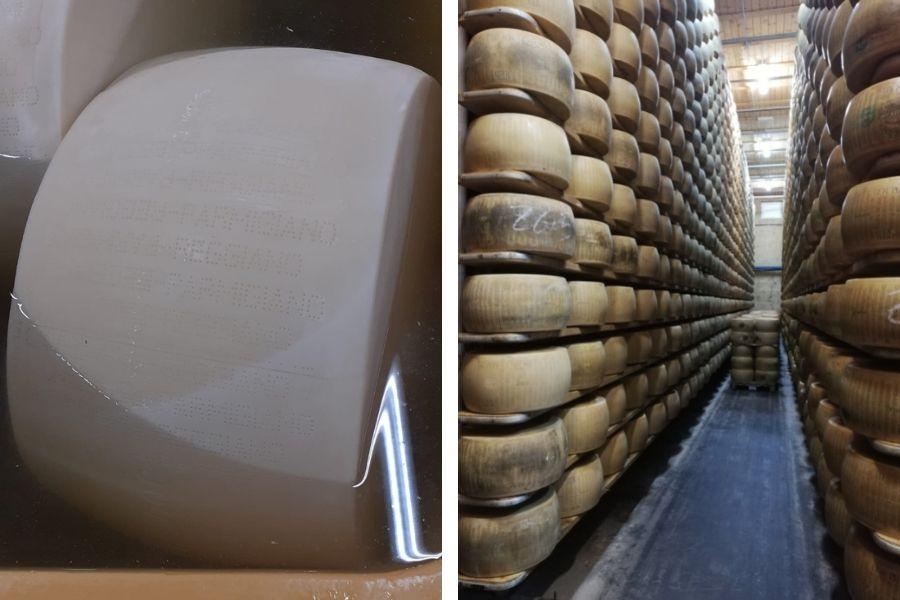 Parmigiano Reggiano da 12 a 96 mesi: ecco come evolve
