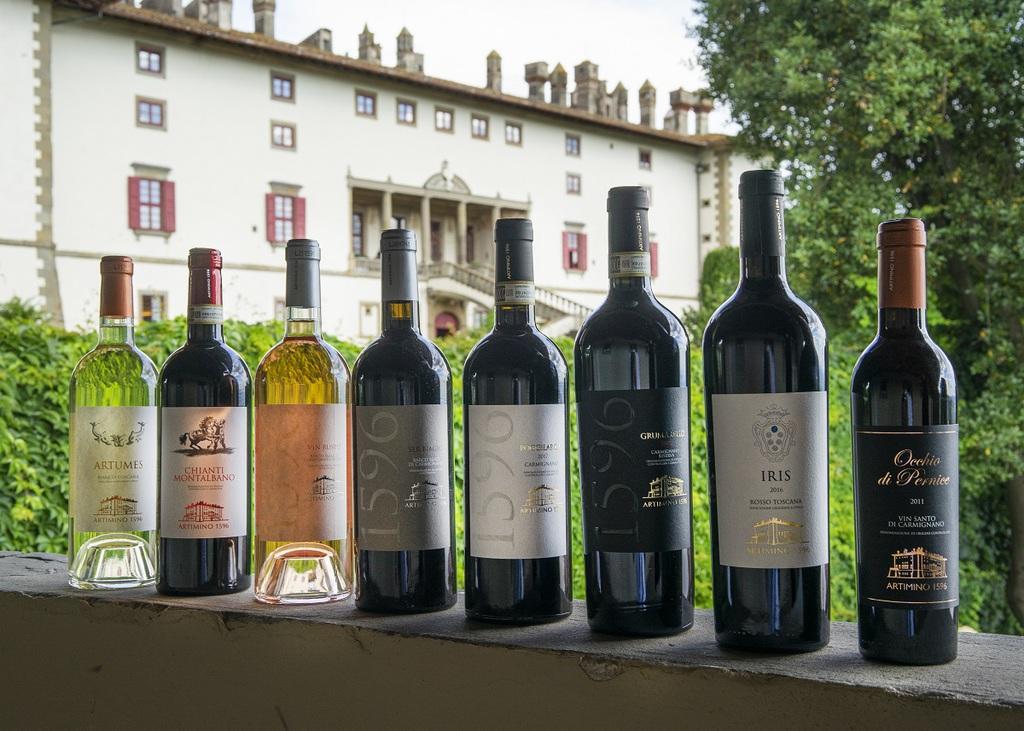 Tenuta di Artimino, la nobiltà del vino di Carmignano